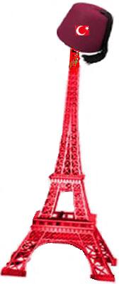 O Πύργος του Άιφελ θα φωτιστεί με τα χρώματα της Τουρκίας